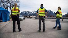 Söder gibt erste Details bekannt: Bayerns Grenzpolizei soll Bund nicht ablösen