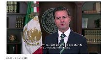 """""""Nichts steht über der Würde"""": Mexiko fordert von Trump Respekt ein"""