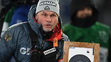 Der Sport-Tag: Medien: Dahlmeiers Trainer steht vor dem Aus