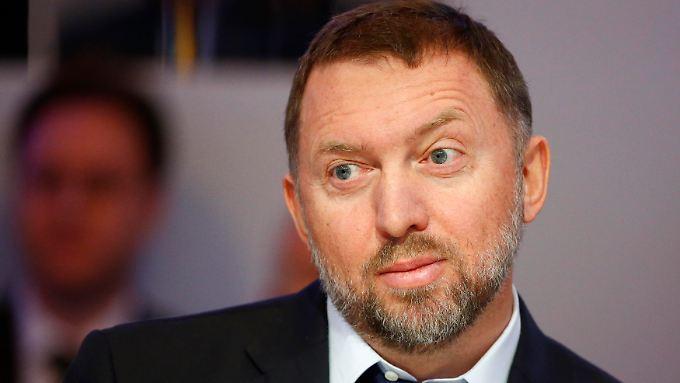 Auch der einflussreiche Geschäftsmann Oleg Deripaska steht auf der Sanktionsliste.