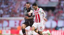 Wölfe beißen im Abstiegskampf: 1. FC Köln verpasst Chance, FSV Mainz hofft
