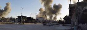 Angriff auf Rebellenhochburg: Weißhelme melden neuen Giftgaseinsatz