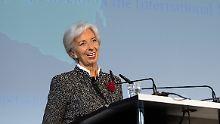 """Der Börsen-Tag: IWF-Chefin warnt vor """"dunklen Wolken"""" über der Wirtschaft"""