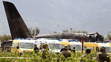 Militärmaschine verunglückt: Mehr als 250 Tote bei Absturz nahe Algier