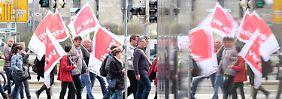 Streiks im öffentlichen Dienst: Verdi-Aktionen treffen mehrere Städte