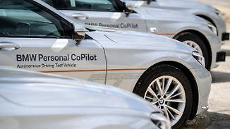 Tüfteln am Auto der Zukunft: BMW eröffnet Campus für autonomes Fahren