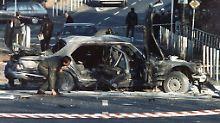 Alfred Herrhausen stirbt bei einem Bombenanschlag.