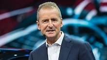 Großes Stühlerücken bei VW: Herbert Diess wird neuer Volkswagen-Chef