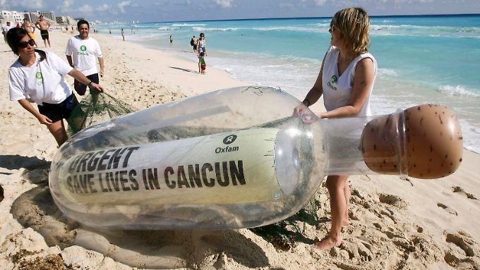 UN-Klimagipfel in Cancún: Die Hoffnung stirbt zuletzt