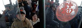 Beliebtes Touristenziel: Unterwegs an Nordkoreas Grenze