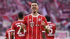 """Fußball gespielt wurde in München übrigens, für Gladbach war das nicht so erfreulich. Für zwei der fünf Borussen-Gegentore sorgte Bayerns Nationalstürmer Sandro Wagner - der nun fest mit einer WM-Nominierung rechnet: """"Da gehe ich davon aus, ehrlich gesagt."""""""