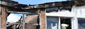 Polizei nimmt 15-Jährigen fest: Schule in Hennef brennt ab