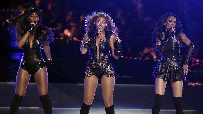 Bereits 2013 stand das einstige Erfolgstrio bei der Halbzeitshow des Super Bowls auf.