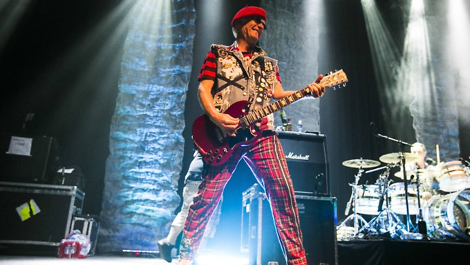 Captain Sensible von The Damned im April 2017 in San Francisco.