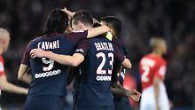 Demütigung für Monaco: Paris St. Germain kantert sich zum Titel