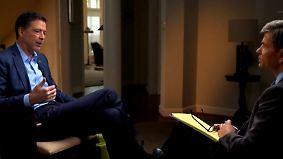 """Ex-FBI-Chef legt in TV-Interview nach: Comey hält Trump für """"moralisch ungeeignet"""""""