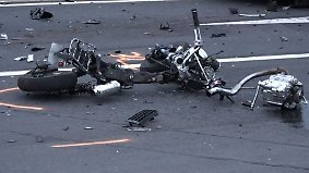 Schwere Unfälle am Wochenende: Mehrere Motorradfahrer verunglücken tödlich
