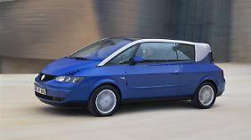 Der Renault Avantime ist auch aus heutiger Sicht ein recht verkorkstes Auto.