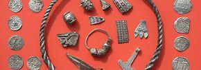 Auf der Flucht versteckt?: Archäologen finden Wikinger-Schatz auf Rügen