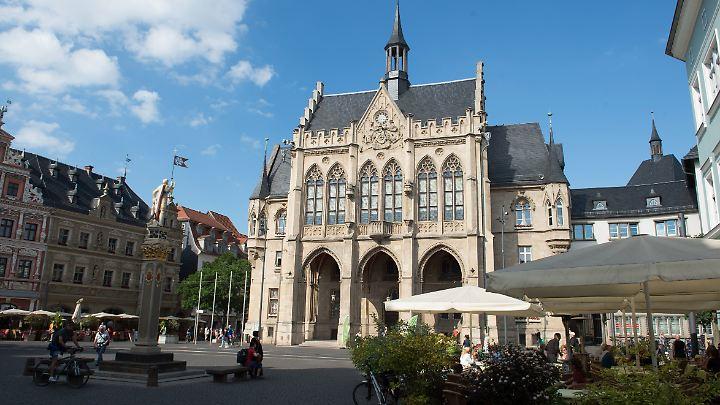 In 14 Tagen findet die Stichwahl ums Erfurter Rathaus statt.