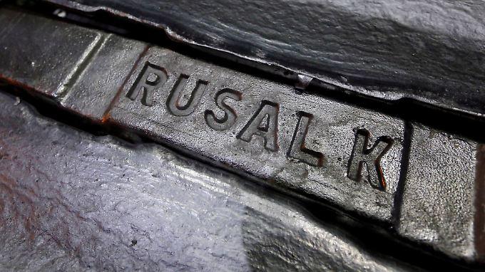 Rusal ist weltweit der zweitgrößte Aluminiumhersteller.