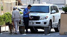 Kein Zugang zu Tatort in Duma: OPCW beklagt Blockade Moskaus in Syrien