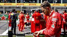 """""""In der Formel 1 ist die Unberechenbarkeit Programm"""": Sebastian Vettel."""