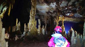 Unerforschte Senklöcher in China: Geologen wollen Höhlen ihre Geheimnisse entlocken
