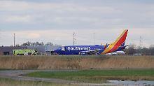 Southwest-Jet in Schwierigkeiten: Passagier stirbt nach Triebwerksexplosion