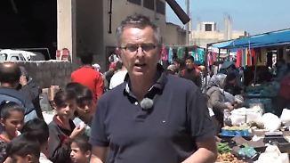 Zehntausende Kurden auf der Flucht: Dirk Emmerich berichtet aus dem Nordwesten Syriens