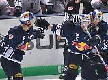 Abgezockter Titelverteidiger: Red Bull München legt in DEL-Playoffs vor