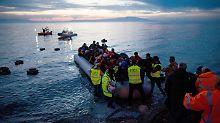 325.400 Menschen erhalten Schutz: Deutschland nimmt die meisten Asylbewerber