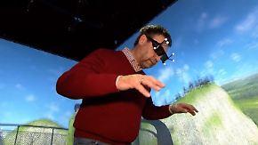 Am virtuellen Abgrund: VR-Brillen können bei Angststörungen helfen