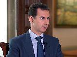 "Baschar al-Assad beziechnet Frankreich ""als Sklaven der USA""."