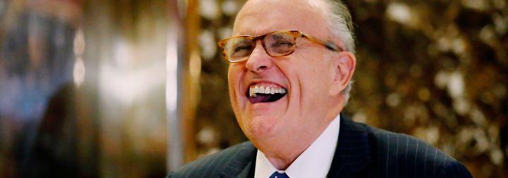 Neuer Job für Rudy Giuliani: Der Trump-Versteher