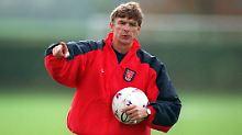 Als alles begann: Arsène Wenger im Oktober 1996