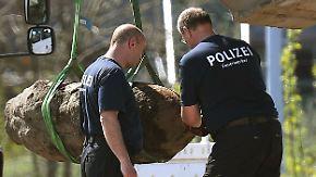 Entwarnung in Berlin: 500-Kilo-Bombe am Hauptbahnhof entschärft