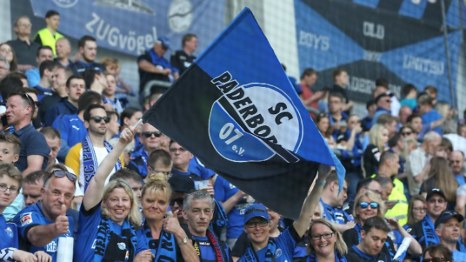 Zurück in Liga 2: Der SC Paderborn.