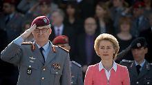 Auf Minsker Abkommen pochen: Von der Leyen will harten Kurs gegen Putin