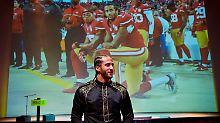 Protest auf Knien: Amnesty zeichnet US-Footballer aus