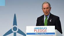 Pariser Abkommen ohne Trump: Bloomberg will US-Klimarechnung zahlen