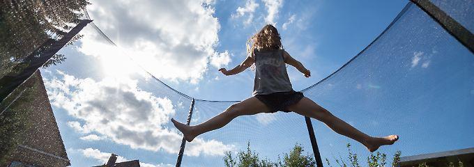 Schnelle Erholung, gute Muskeln: Kinder sind fit wie Ausdauersportler