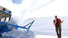 Letzte Bastion des Winters: Großglockner Hochalpenstraße wird vom Schnee geräumt