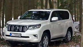 Aufgefrischter Klassiker: Toyota verpasst dem Land Cruiser ein Facelifting