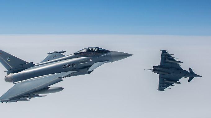 In rund zwei Jahrzehnten soll das neue franz.-dt. Kampfflugzeug den Eurofighter ablösen.