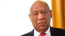 Für sexuelle Nötigung verurteilt: Bill Cosby wird schuldig gesprochen