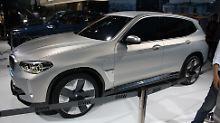 Sein Elektro-SUV reiht BMW konsequnet in die Phalanxe ähnlicher Fahrzeuge von Mercedes und Jaguar.