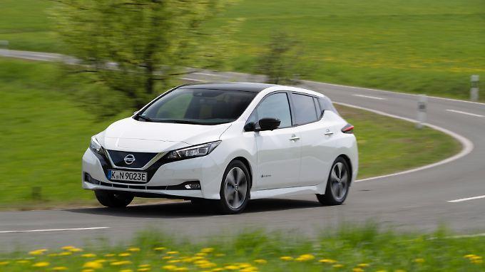 Aerodynamisch verbessert liegt der Luftwiderstands-Beiwert des Nissan Leaf jetzt bei 0,28.