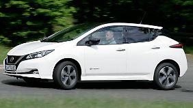 Dank 150 PS ist der neue Nissan Leaf für manche flotte Kurve gut.