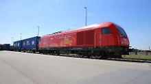 9800 Kilometer in zwei Wochen: Güterzug aus China in Wien eingetroffen
